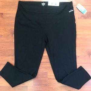 NWT Spalding Black Ankle Leggings Yoga Pants 2X